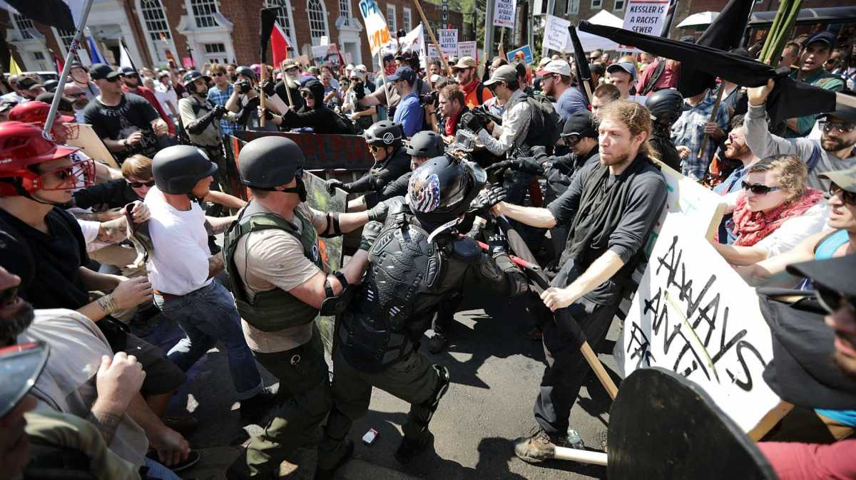 Charlottesville III: George Orwell's prescience and frightening vision.