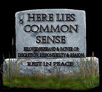 "What was ""common"" sense?"