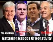 The nattering nabobs ofnegativism!