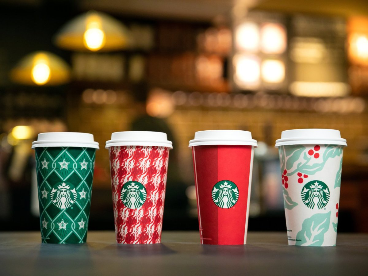 Starbucks doubling down on seasonal cheer? Where's the beef?